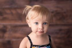 toddler with big eyes