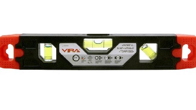 Уровень Vira Torpedo 230 мм магнитный   100403