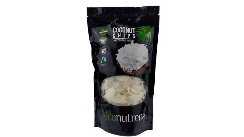 Econutrena. Кокосовые чипсы, 150 г