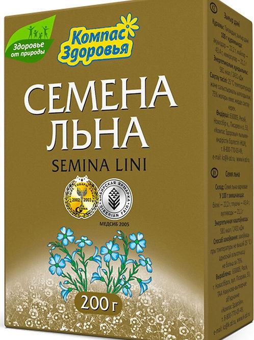 Семена льна Компас Здоровья 200гр