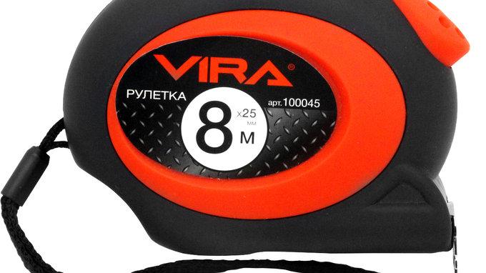 Рулетка Vira100045 8 м x 25 мм