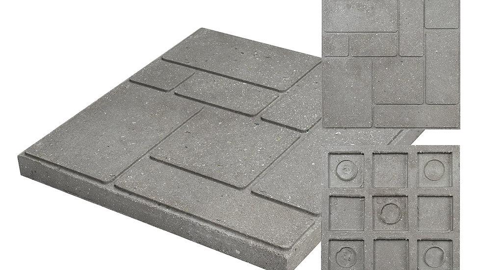Тротуарная плитка «средняя» 300х300х25мм