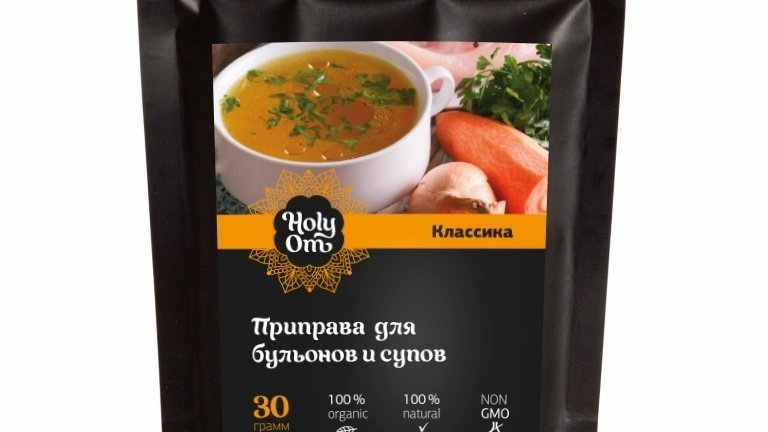 Приправа для бульонов и супов Holy Om 30 г