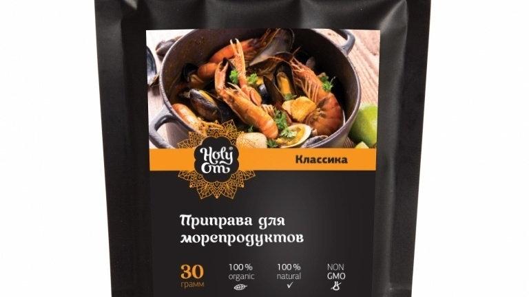 Приправа для морепродуктов Holy Om 30 г