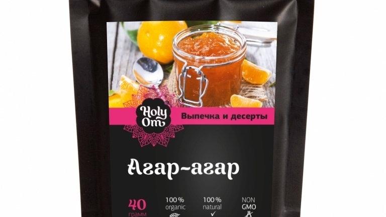 Агар-агар Holy Om 40 г