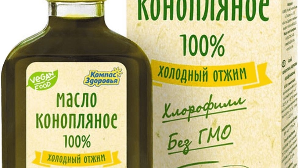 Масло Конопляное Компас Здоровья