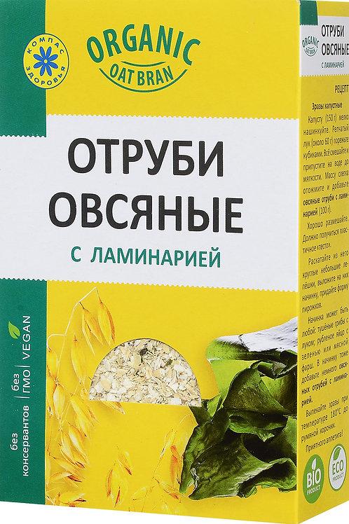 Отруби овсяные с ламинарией Компас Здоровья , 200 г