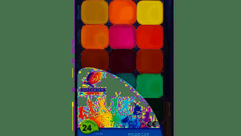 Луч акварельные Краски Классика 24 цвета
