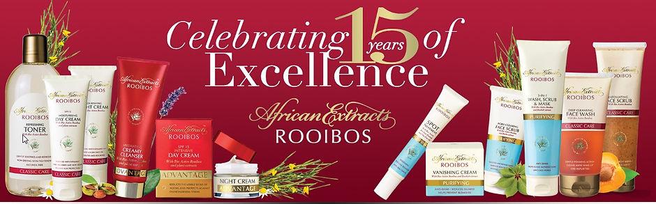 Rooibos skin care