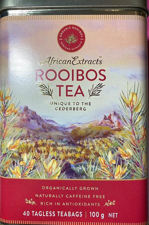 Rooibos Tea in Reusable Tin