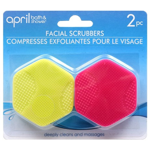 Silicone Scrubbers 2 pack