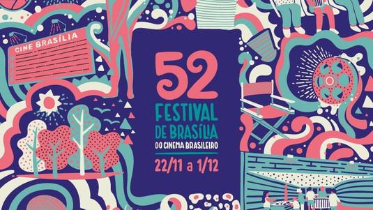 52º Festival de Brasília do Cinema Brasileiro. 2019 Desenho de luz: Moisez Vasconcellos Cenografia: Gustado de Goes.