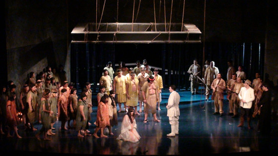 Ópera Lo schiavo - Carlos Gomes - 2010   XIV Festival Amazonas de Ópera