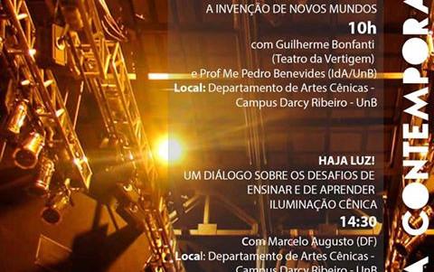 Cena Contemporânea – Festival Internacional de Teatro de Brasília. 2015 Coordenação Técnica : Moisez Vasconcellos.