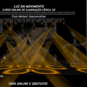 CURSO ON-LINE DE ILUMINAÇÃO CÊNICA 3D