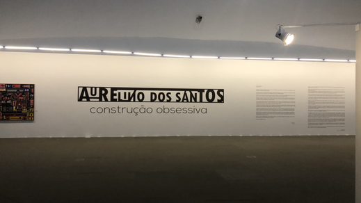 Aurelino dos Santos: Construção Obsessiva - exposição - 2020.