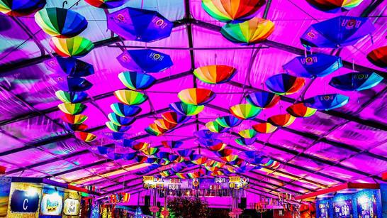 Carnaval no Parque 2017. Desenho de luz: Moisez Vasconcellos Cenografia: Andrey Hermuche. R2 Produções.