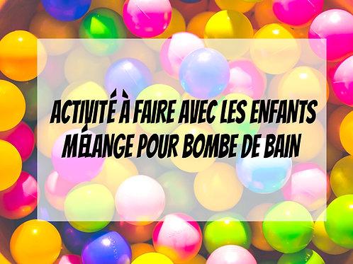 EMSEMBLE DE FABRICATION DE BOMBES