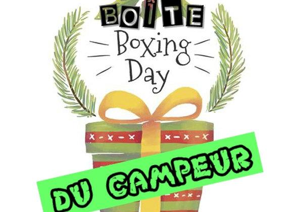 BOÎTE MYSTÈRE-BOXING DAY DU CAMPEUR