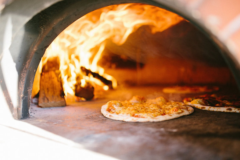 Carolina Crust -Wood-Fired Pizza Oven from our Mobile Eatery in Raleigh-Durham, NC