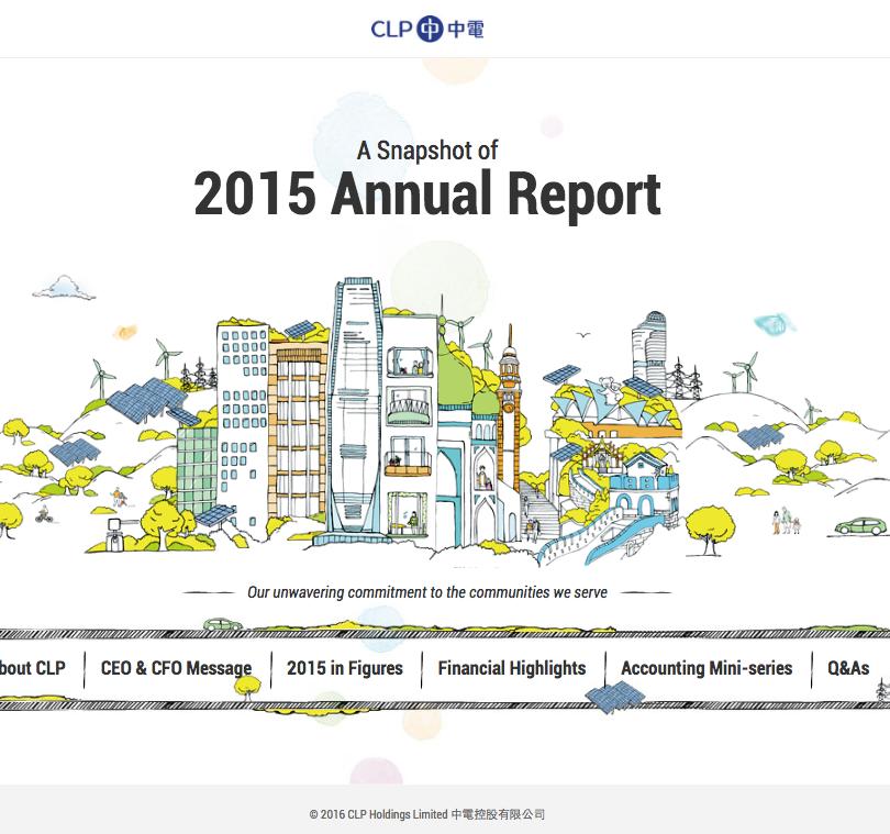 CLP 2015 Annual Report Snapshot