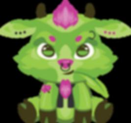 Bruiser The Great Green Goat