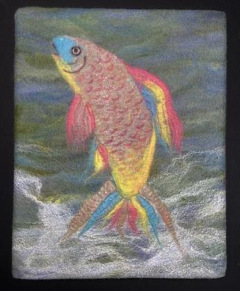 """Pan"" Fish 11""x 14"""