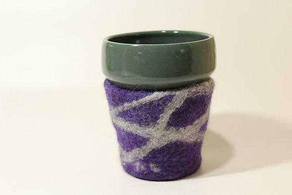 Purple & Grey Cozy Mug