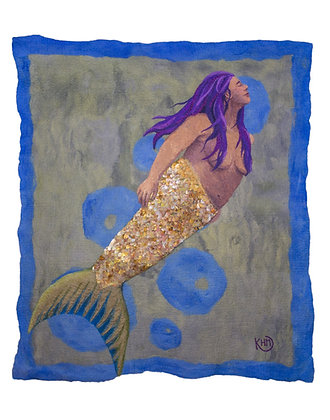 "Mermaid Print 11""x 14"""