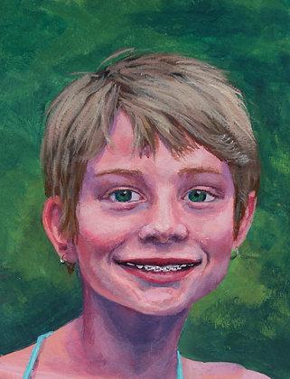 8x10 Custom Acrylic Portrait