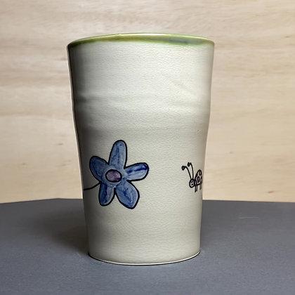 Flower Bug Seed Illustration Cup