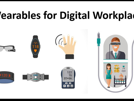 Wearables for Digital Workplace.