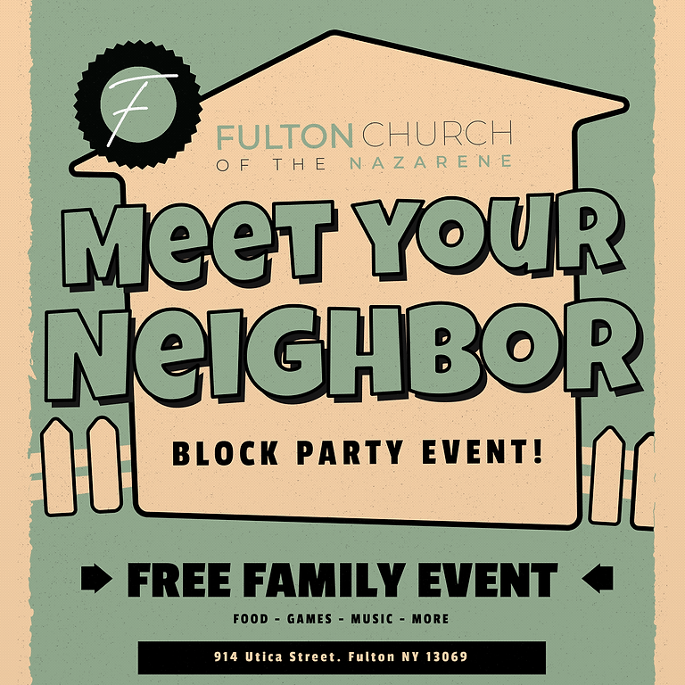 Neighborhood Block Party!