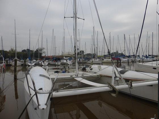 Catamarã Malcolm Tennant 36´ - 1990