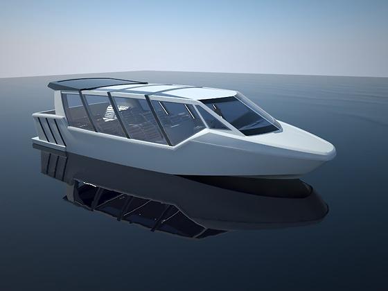 Taxi Boat 10m - BRL Design 2012