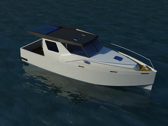 Fast Trawler 33´- BRL Design 2011