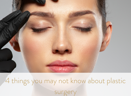 4 things to learn about plastic surgery