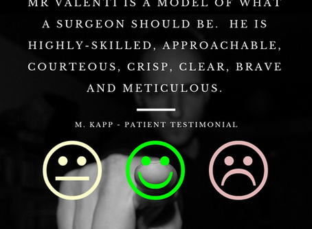 From time to time, our patients like us to share their stories with you. Read more about Mr Kapp.
