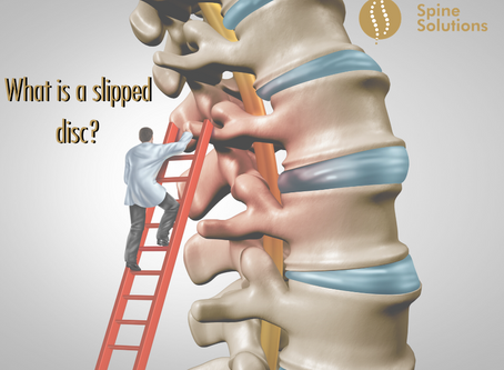 What is a slipped disc?