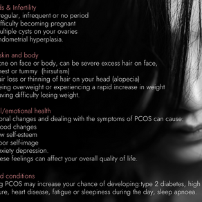 Polycystic ovary syndrome continued