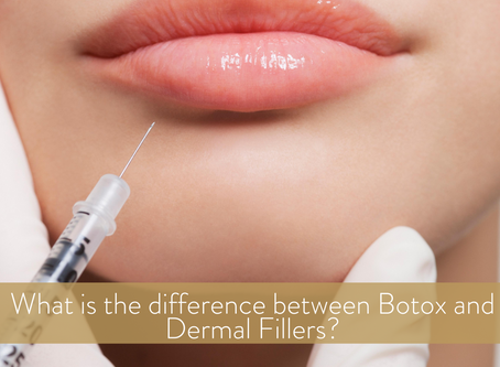 Do you know what the difference between Botox and dermal fillers is?