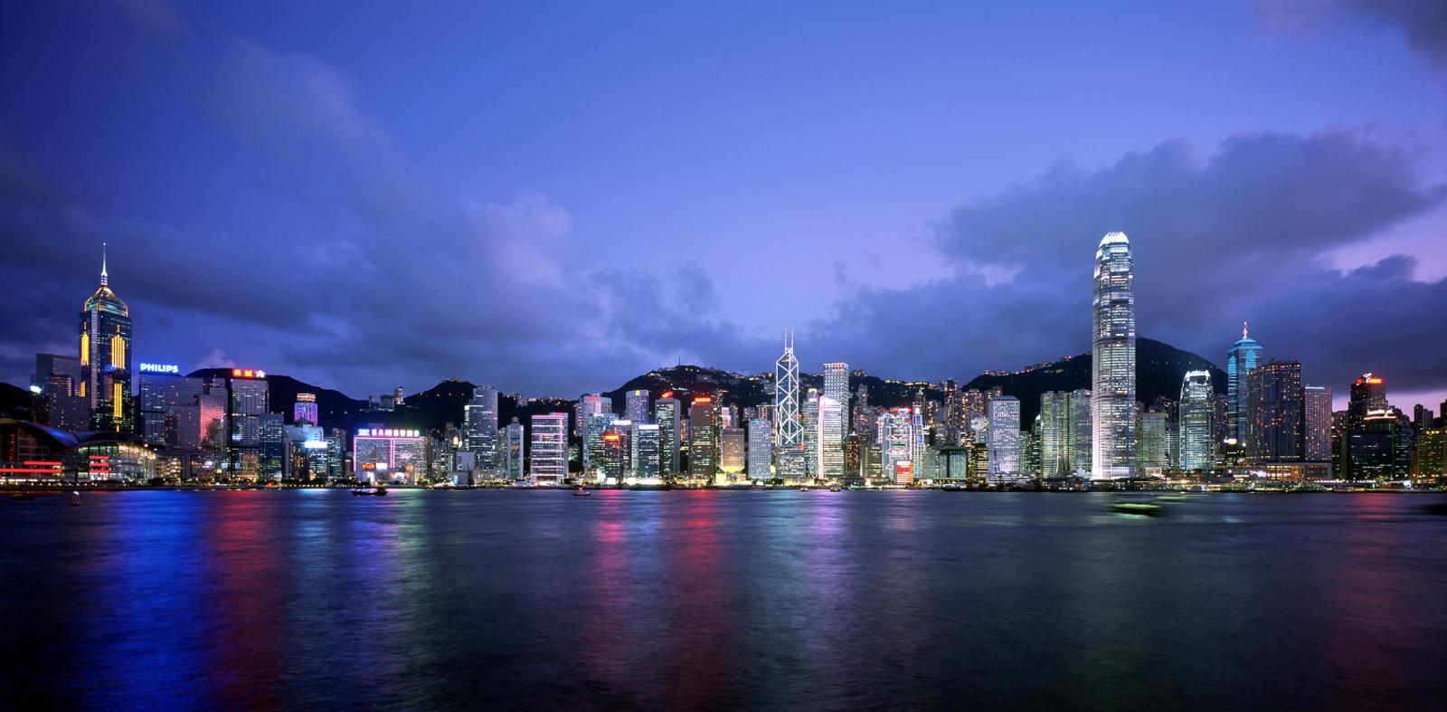 香港天際線 - 夜