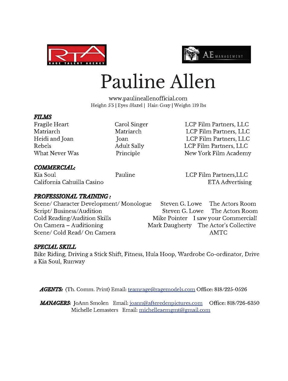 Pauline Allen Resume with Logos 2020-2_