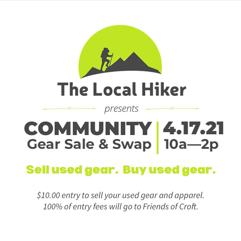 Spring Community Gear Sale & Swap