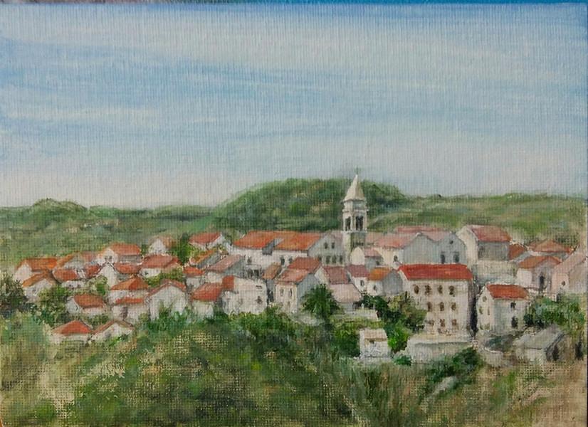 Susak upper village