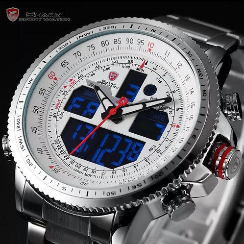 SHARK Sport LCD AVIATOR - Blanco - ( 390.000 Gs)