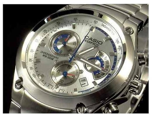 Casio Stainless Steel Edifice Chronograph EF-507