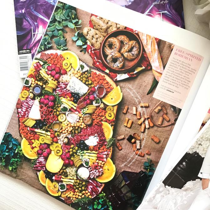 Metro Weddings Magazine Feature. July Issue