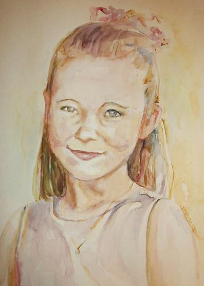 First Communion Portrait- Adaire