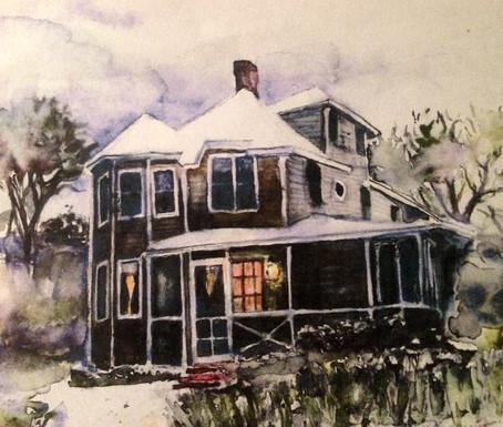 Massachusetts House Winter